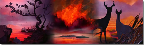 La tragédie de l'incendie, les haïkus du vendredi