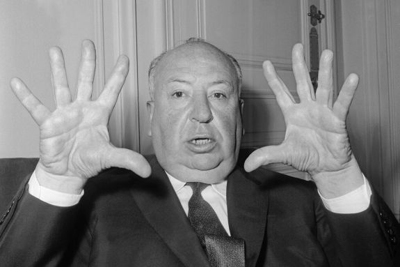 Alfred hitchcock style
