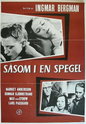 Travers le miroir de ingmar bergman 1961 analyse et for A travers le miroir