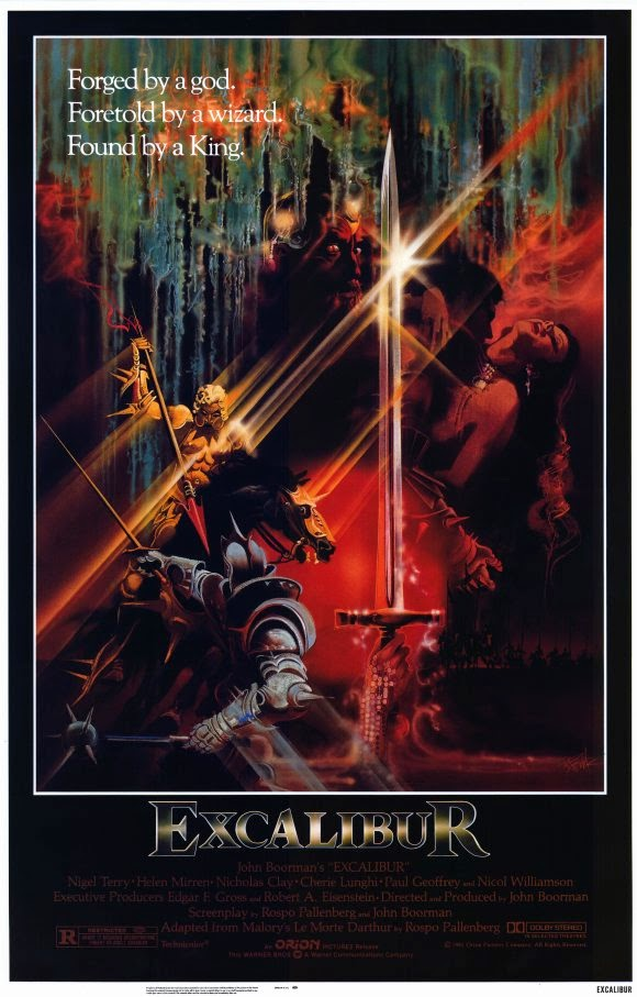 An analysis of the portrayal of a knight in john boormans movie excalibur