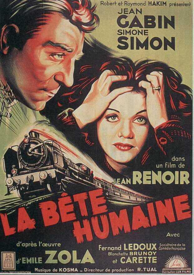 La Bete Humaine 1938 La Bete humaine