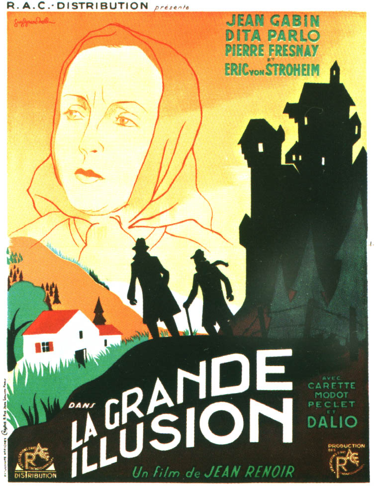 film analysis la grande illusion Renoir's classic prison camp escape story is more than the strong anti-war statement that won it praise at the time of its release it is also an ironic social analysis highlighting class differentiation.