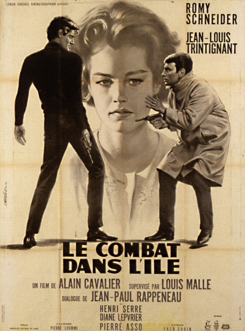 le combat dans l 39 le de alain cavalier 1962 analyse et critique du film dvdclassik. Black Bedroom Furniture Sets. Home Design Ideas