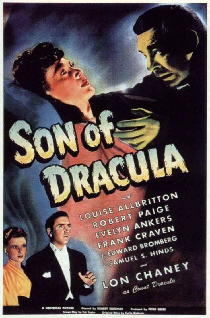 Le Fils de Dracula affiche