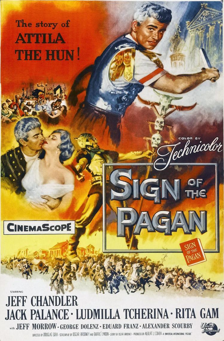 Jack Palance Filmes Delightful le signe du païen de douglas sirk (1954) - analyse et critique du