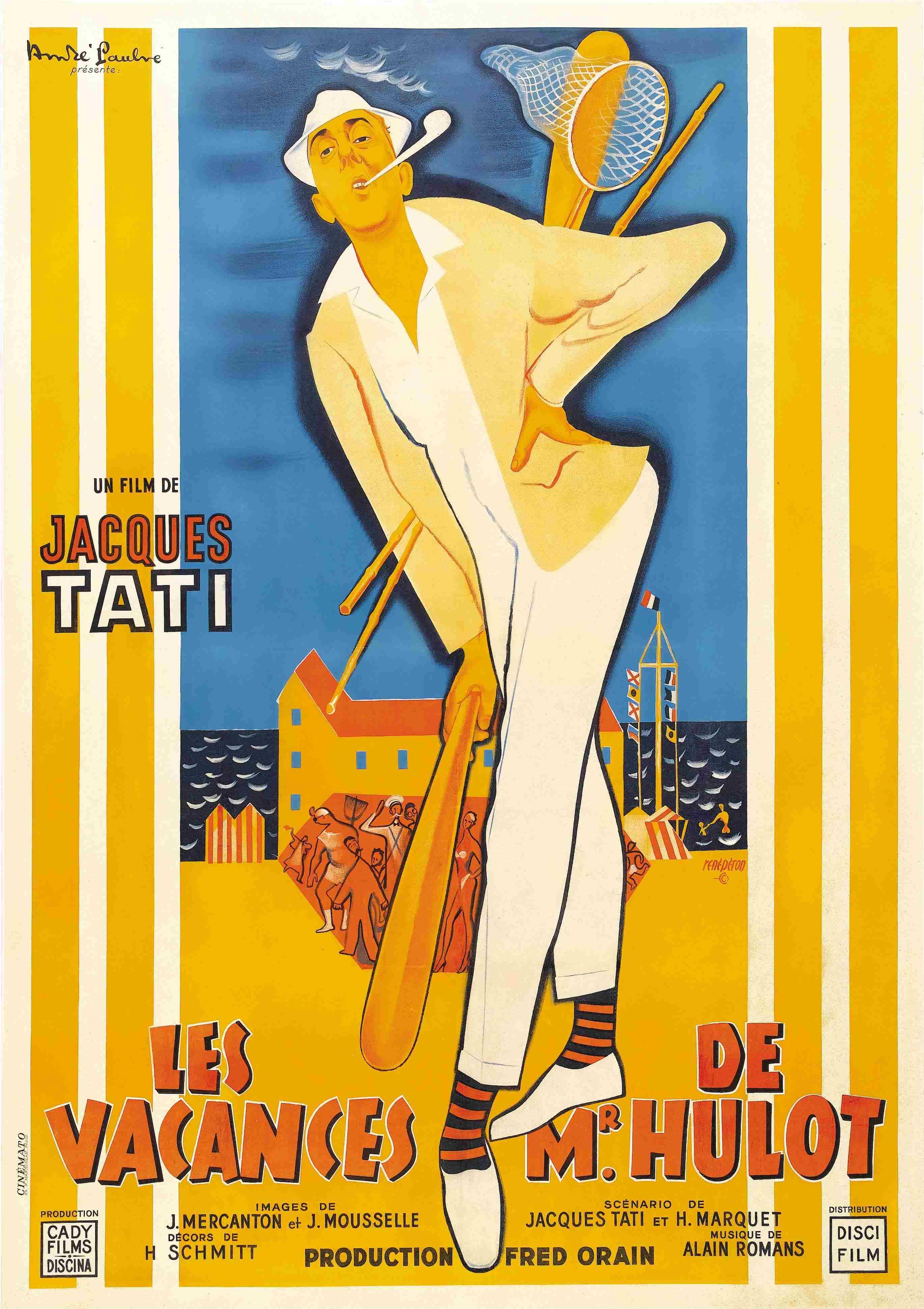 les vacances de monsieur hulot de jacques tati 1953 analyse et critique du film dvdclassik. Black Bedroom Furniture Sets. Home Design Ideas