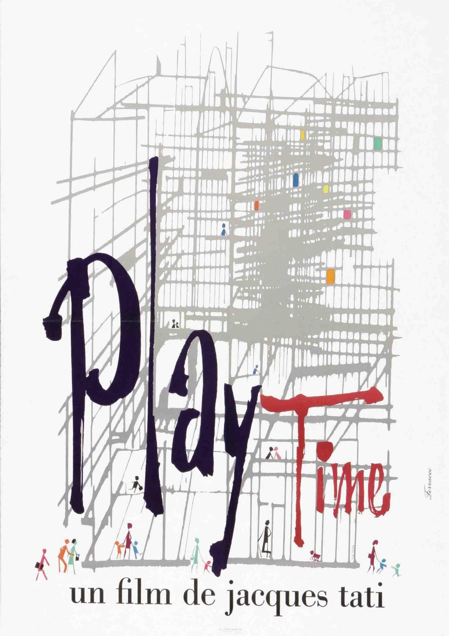 playtime de jacques tati 1967 analyse et critique du film dvdclassik. Black Bedroom Furniture Sets. Home Design Ideas