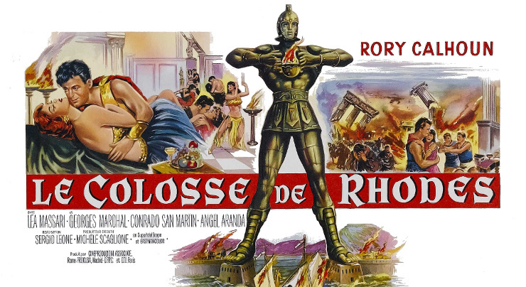 film le colosse de rhodes