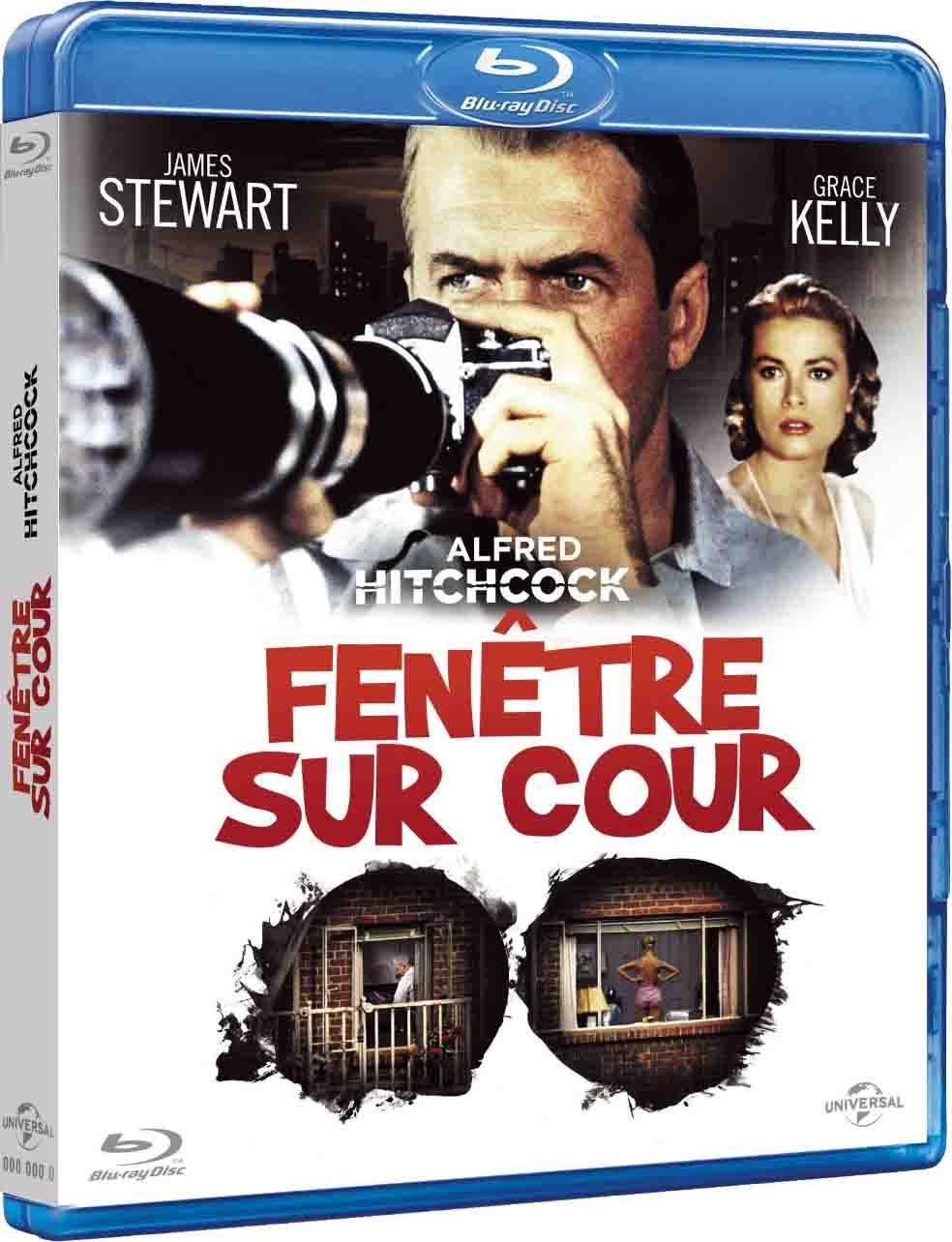 Fen tre sur cour test blu ray universal pictures video for Fenetre sur cour film
