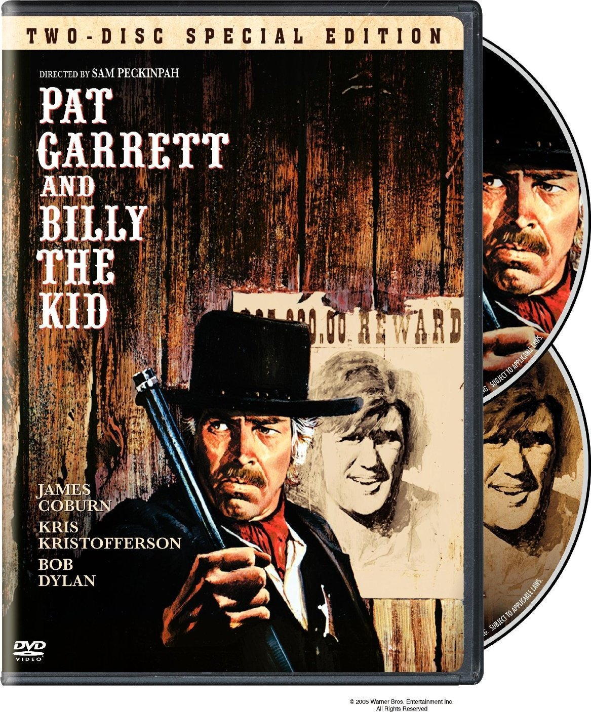 pat garrett et billy le kid test dvd edition two discs special edition warner dvdclassik