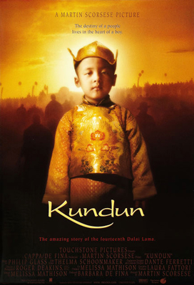 Image result for kundun film poster